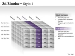 Business Finance Strategy Development 3d Blocks Style Strategy Diagram