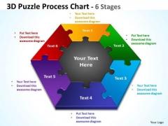 Business Finance Strategy Development 3d Puzzle Process Diagram Chart Sales Diagram
