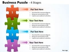 Business Finance Strategy Development Business Puzzle 4 Strategic Management