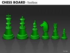 Business Finance Strategy Development Chess Board Strategy Diagram