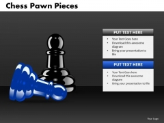 Business Finance Strategy Development Chess Pawn Pieces Strategy Diagram