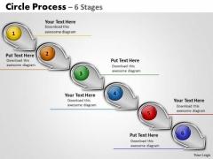 Business Finance Strategy Development Circle Arrow Process Business Diagram
