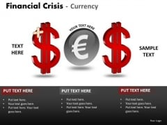 Business Finance Strategy Development Financial Crisis Currency Consulting Diagram
