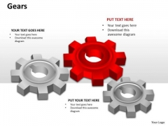 Business Finance Strategy Development Gears Business Cycle Diagram