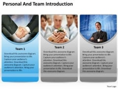 Business Finance Strategy Development Get Personal And Team Introduction Strategic Management