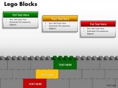 Business Finance Strategy Development Lego Blocks 3 Business Cycle Diagram