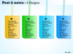 Business Finance Strategy Development Post It Notes Strategy Diagram