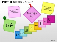 Business Finance Strategy Development Post It Notes Style 2 Strategy Diagram