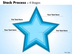 Business Finance Strategy Development Stack Process 4 Sales Diagram