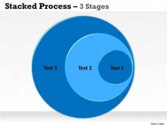 Business Finance Strategy Development Stacked Process Sales Diagram