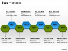 Business Finance Strategy Development Step 9 Stages Sales Diagram