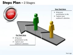 Business Finance Strategy Development Steps Plan 2 Stages Style 2