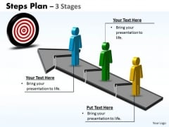 Business Finance Strategy Development Steps Plan 3 Stages Style 3 Marketing Diagram