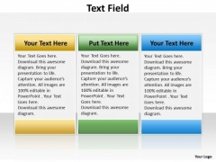 Business Finance Strategy Development Text Field Marketing Diagram