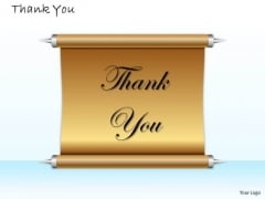 Business Finance Strategy Development Thank You Card Design Consulting Diagram