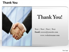 Business Finance Strategy Development Thank You Slide With Contact Details 1 Strategy Diagram