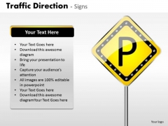 Business Finance Strategy Development Traffic Direction Signs Marketing Diagram