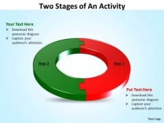 Business Finance Strategy Development Two Stages Of An Activity Strategy Diagram