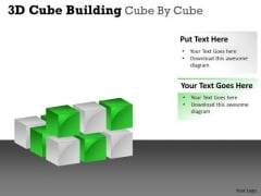 Business Framework Model 3d Cube Building Cube By Cube Mba Models And Frameworks