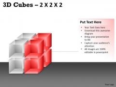 Business Framework Model 3d Cubes 2x2x2 Mba Models And Frameworks