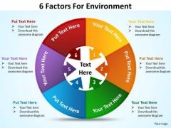 Business Framework Model 6 Factors For Diagram Environment Sales Diagram