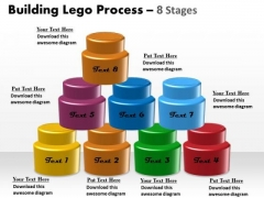 Business Framework Model Building Lego Process 8 Stages Strategy Diagram