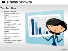 Business Framework Model Business Growth Marketing Diagram