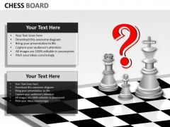 Business Framework Model Chess Board Sales Diagram