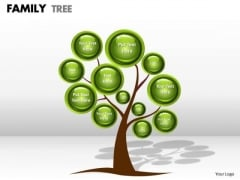 Business Framework Model Family Tree Strategic Management
