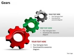 Business Framework Model Gears Business Cycle Diagram