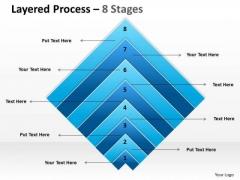 Business Framework Model Layered Marketing Diagram