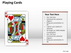 Business Framework Model Playing Cards Sales Diagram