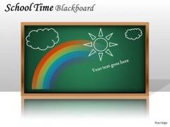 Business Framework Model School Time Blackboard Consulting Diagram