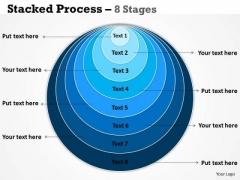 Business Framework Model Stacked Business Diagram