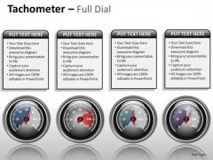 Business Framework Model Tachometer Full Dial Business Cycle Diagram
