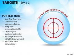 Business Framework Model Targets Style 1 Strategic Management