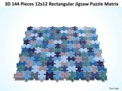 Consulting Diagram 3d 144 Pieces 12x12 Rectangular Jigsaw Puzzle Matrix Strategic Management