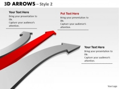 Consulting Diagram 3d Arrows Styli Business Finance Strategy Development