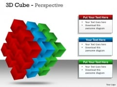 Consulting Diagram 3d Cube Perspective Marketing Diagram