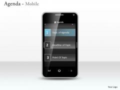 Consulting Diagram Agenda Mobile Marketing Diagram