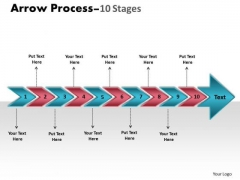 Consulting Diagram Arrow Process 10 Stages Mba Models And Frameworks
