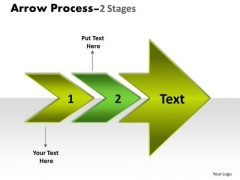 Consulting Diagram Arrow Process 2 Stages