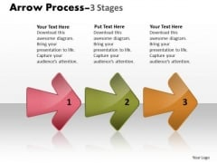 Consulting Diagram Arrow Process 3 Stages 3 Consulting Diagram