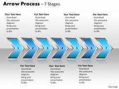 Consulting Diagram Arrow Process 7 Stages Style Strategy Diagram