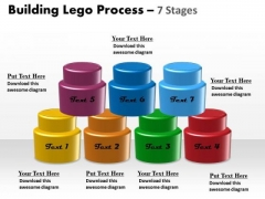 Consulting Diagram Building Lego Process 7 Stages Strategic Management