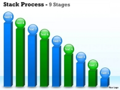 Consulting Diagram Business Objectives Stack Diagram With 9 Stages Marketing Diagram