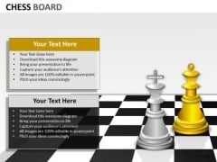 Consulting Diagram Chess Board Business Diagram