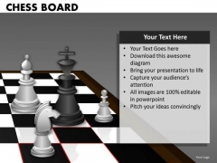 Consulting Diagram Chess Board Business Framework Model