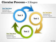 Consulting Diagram Circular Process 3 Stages Marketing Diagram