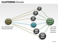 Consulting Diagram Clustering Circular Ppt Strategy Diagram